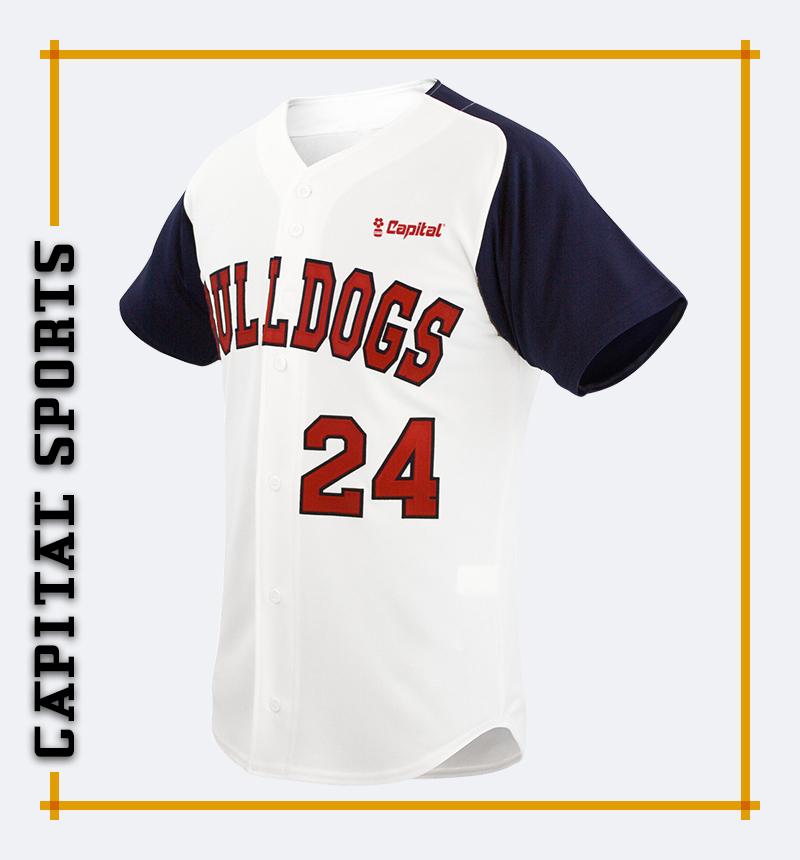 Capital Desirable  Baseball Jersey