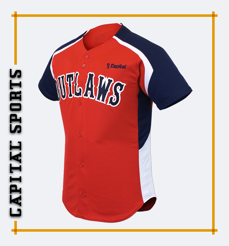 Capital Superb Baseball Jersey